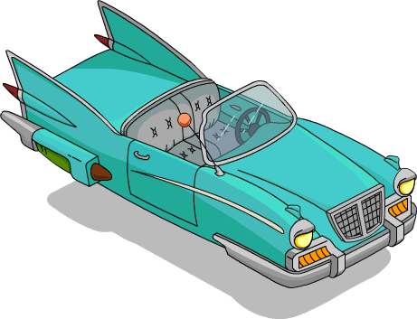 Simpson 39 s hover car the simpsons tapped out wiki for Springfield registry of motor vehicles