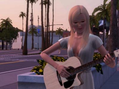 File:Guitar at Sunset.jpg