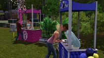 Festival spring - kissing booth