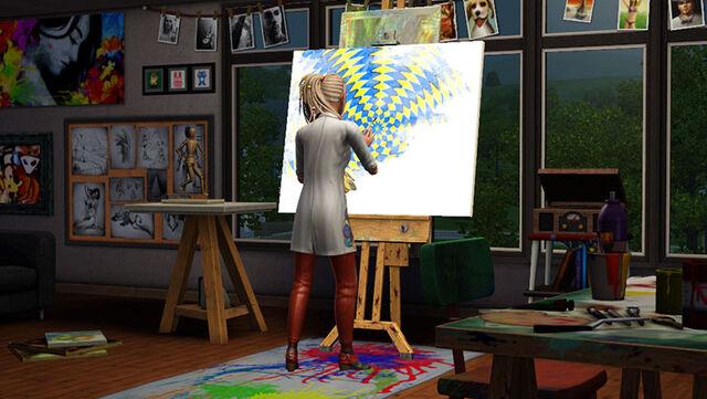 File:Sims art studio.jpg