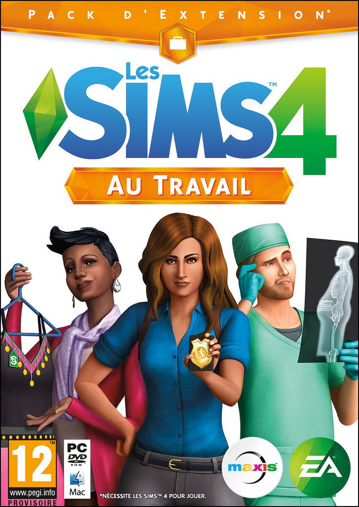 Les Sims 3 Showtime Edition Collector Katy Perry: Les Sims 4: Au Travail