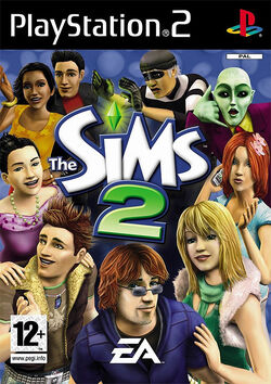 Sims2ps2boxart
