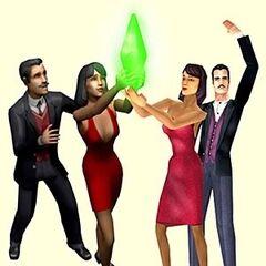 Familie Grusel aus <i>Die Sims</i> und <i>Die Sims 2</i>