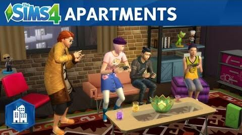 The Sims 4 City Living Official Apartments Trailer
