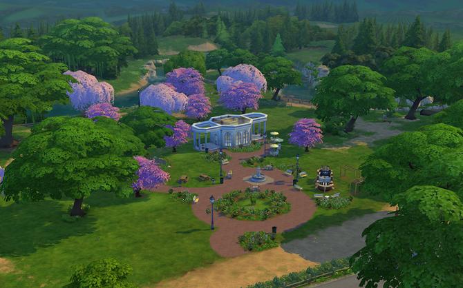 Magnolia Blossom Park - Far view