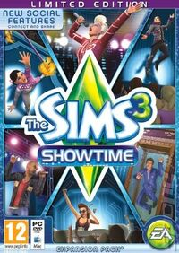 The Sims 3 Showtime Limited Edition Europe