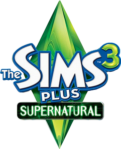 File:The Sims 3 Plus Supernatural Logo.png