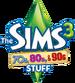The Sims 3 70s, 80s, & 90s Stuff Logo