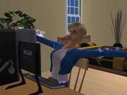 Sim Being Electrocuted