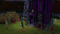 Festival fall - haunted house
