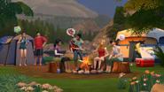 Ts4 camping