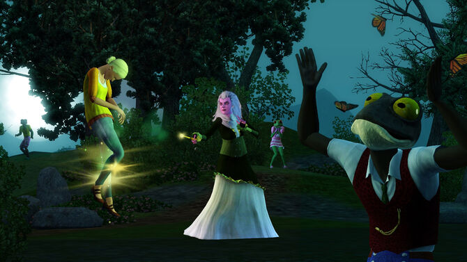 TS3 Supernatural Witch Spellcasting