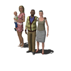 Baker Family (The Sims 3)