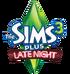 The Sims 3 Plus Late Night Logo