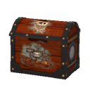 Toy Pirate Chest