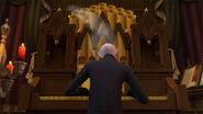 Vlad playing organ