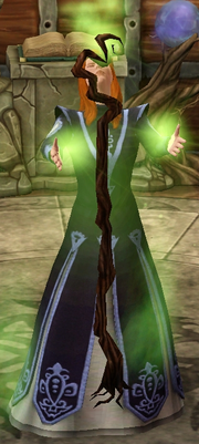 Treemancer s staff