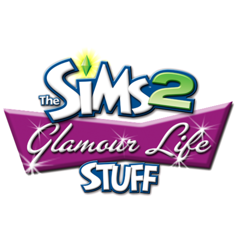 File:The Sims 2 Glamour Life Stuff Logo.png