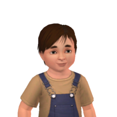 Chris toddler headshot