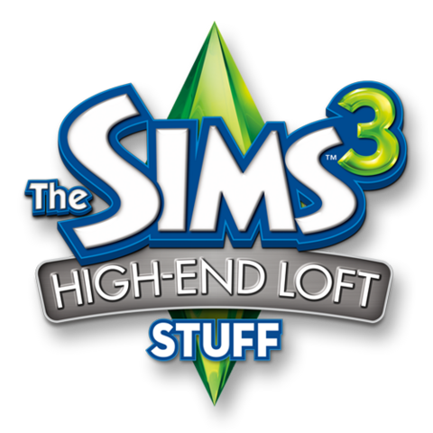 File:The Sims 3 High-End Loft Stuff Logo.png