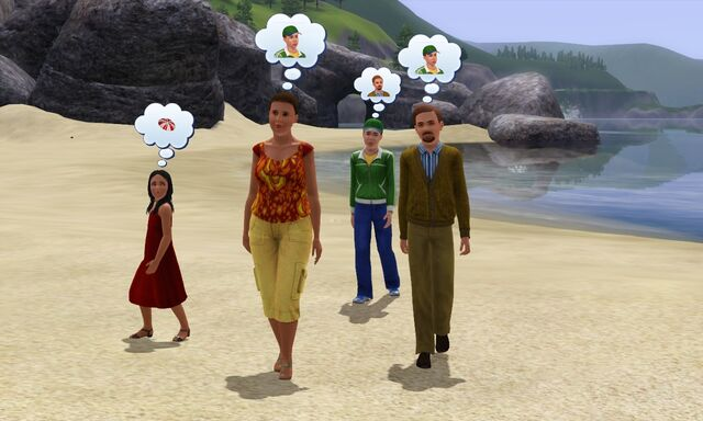 File:Bachelor family at beach.jpg