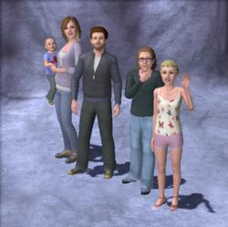 Hall Family Portrait