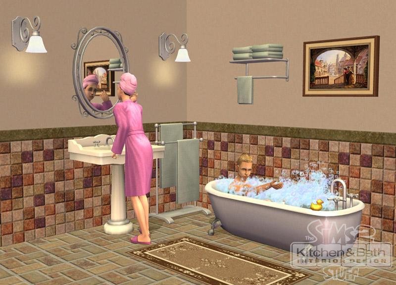 Fichier cuisine et salle de bain design les sims for Salle de bain sims 4