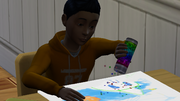 The Sims 4 child