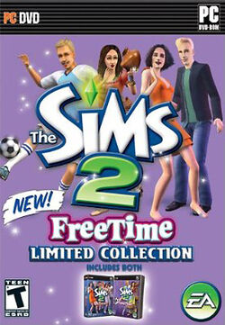 The Sims 2 FreeTime Limited Collection Cover
