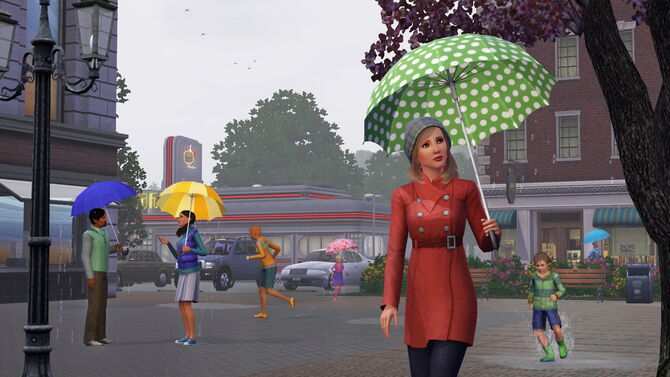 Sims 3 seasons rain