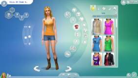 TS4 CAS Demo Tops