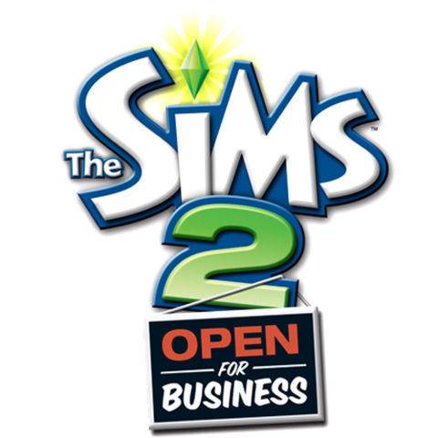 File:The Sims 2 Open for Business Logo.png