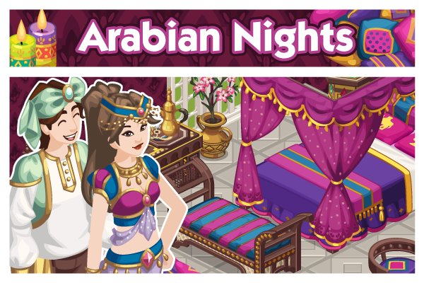 File:Sims Social - Promo Picture - Arabian Nights.jpg