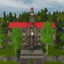 Template City Hall (Aurora Skies)