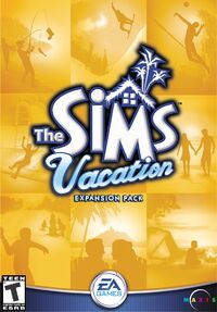 The Sims Vacation Cover