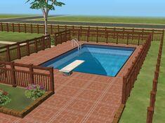 Sims 2 pool