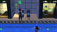 Sims 3 skinny dipping.