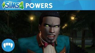The Sims 4 Vampires Official Vampire Powers Gameplay Trailer