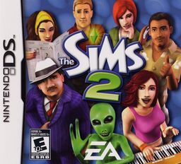 The Sims 2 NDS front