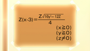 Class 1-A Math Equation