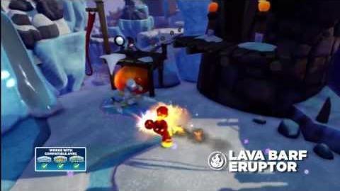Meet the Skylanders Lava Barf Eruptor