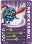 Skylander Card Wrecking Ball
