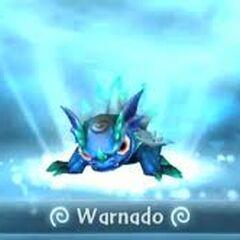 Warnado entrando al portal