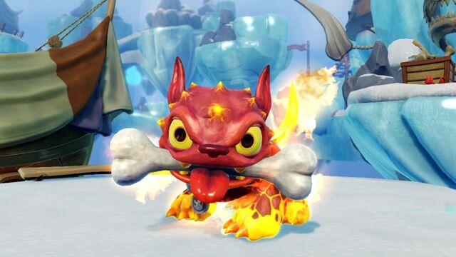Datei:Fire Bone Hot Dog Screen2.jpg