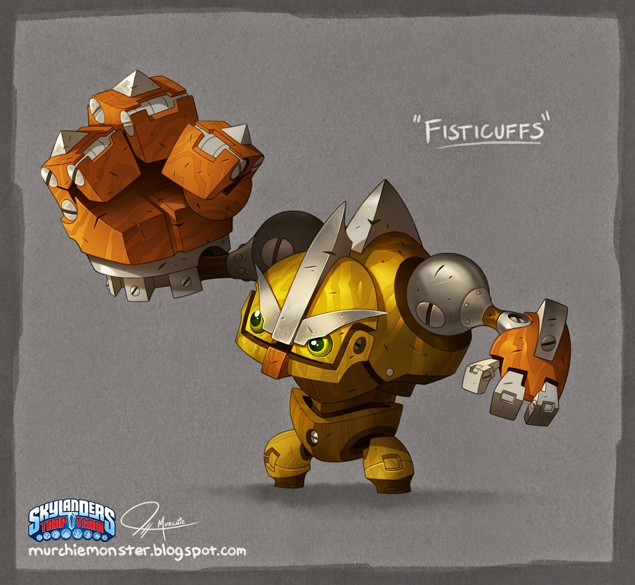 """Skylanders """"Scrap Shooter"""" and """"Fisticuffs!"""" 