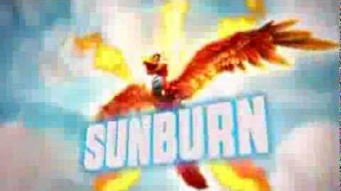 Skylanders Giants - Sunburn's Soul Gem Preview (Roast-N-Toast)