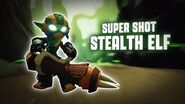 Skylanders SuperChargers - Super Shot Stealth Elf's Soul Gem Preview (Silent but Deadly)