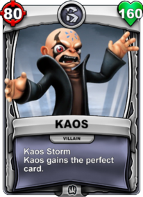 Kaos Storm - Special Abilitycard