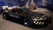 Supercharged Police Cruiser