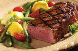 Center Cut Strip Steak 350